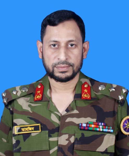 Brig Gen Tamjidul Haque Chowdhury, ndc, afwc, psc