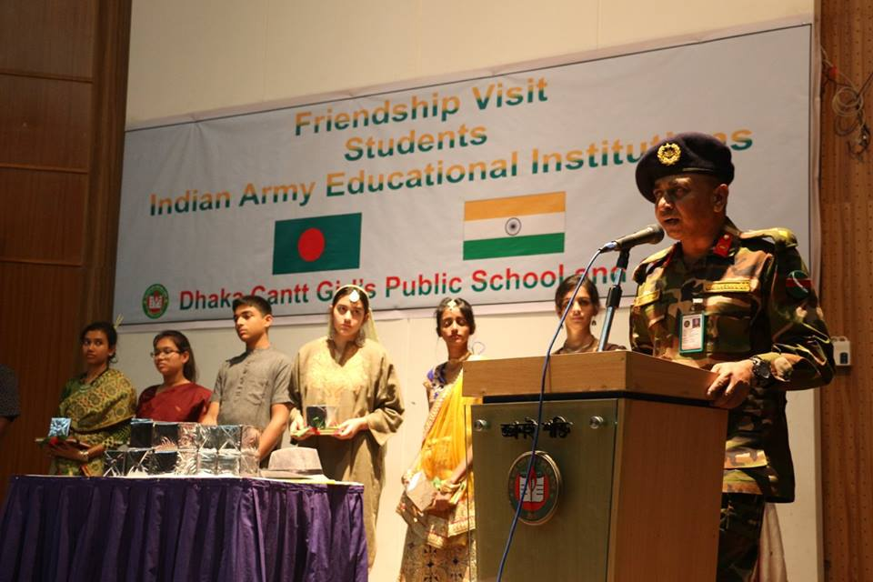 Speech of the respected Principal Sir