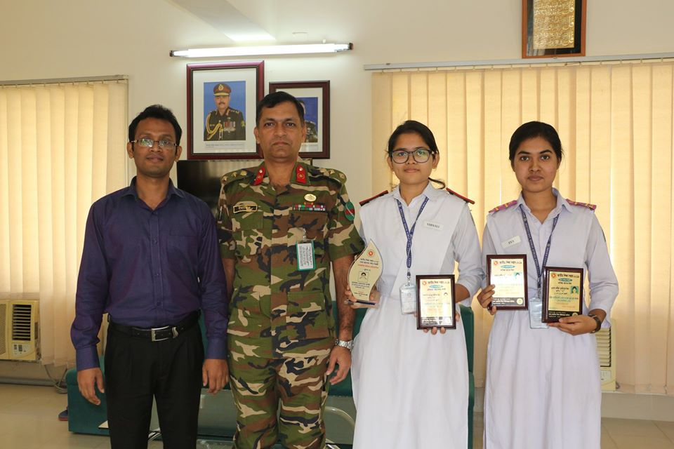 Two students awarded National Education Week - 2019!