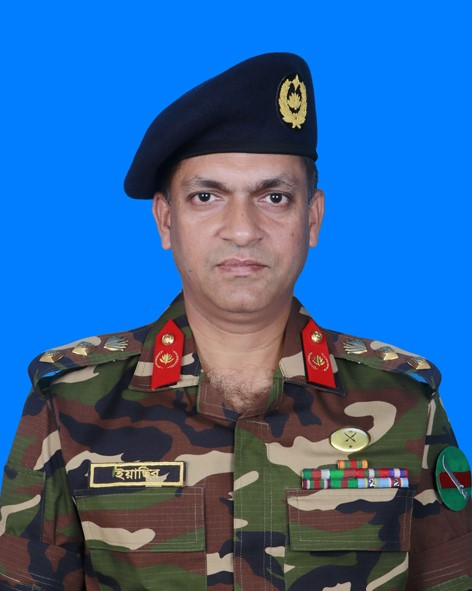Colonel Md Yeasir Jahan Hossain, psc