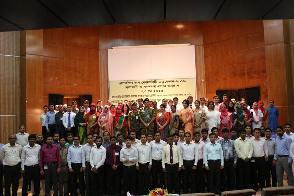 Closing Ceremony of Workshop on Quality Education - 2019